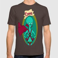 The Great And Powerful C… Mens Fitted Tee Brown SMALL