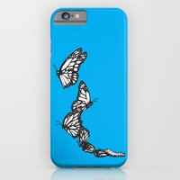 iPhone & iPod Case featuring Blue Monarch by Pat Butler