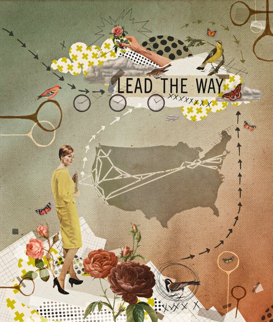 lead the way Art Print