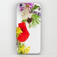 Des herbes naturelles iPhone & iPod Skin