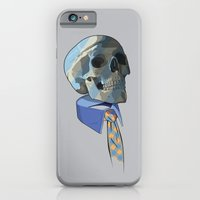iPhone & iPod Case featuring Blue Collar by Matt Fontaine