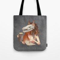 Long Live The Dead - Fox Tote Bag