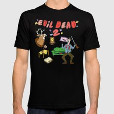 ♥ EVIL DEAD 2 ♥ Mens Fitted Tee SMALL Black