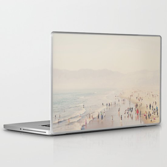 standing on the edge of the world ...  Laptop & iPad Skin