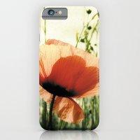 Eclosion De Coquelicot iPhone 6 Slim Case