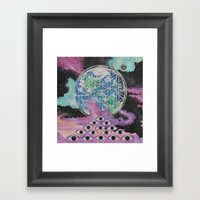 The Overview Effect Framed Art Print
