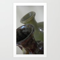 Just vases Art Print