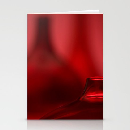 Red Stationery Card