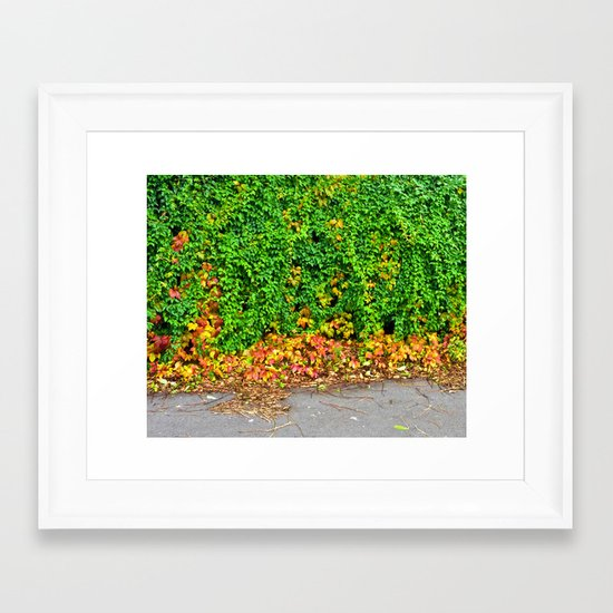 Autumm Framed Art Print