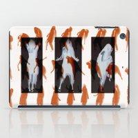 Orange dancer iPad Case