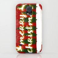 Merry Christmas Galaxy S5 Slim Case