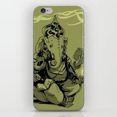 nerdy ganesha iPhone & iPod Skin