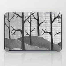Abstract Forest Scene iPad Case