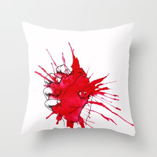 Crushed Throw Pillow
