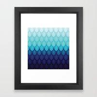 Arctic Ombre! Framed Art Print