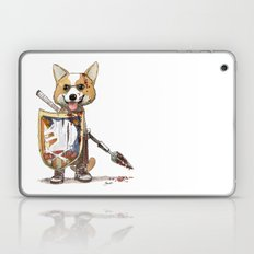 Corgi Barbare Laptop & iPad Skin