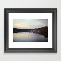 Boat House Row, Philadelphia Framed Art Print