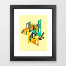 I'M RIGHT HERE IF YOU AR… Framed Art Print