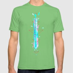 Distillation Mens Fitted Tee Grass SMALL