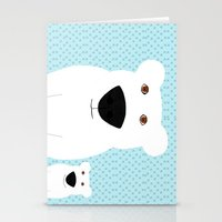 Winter - Polar Bear 2 Stationery Cards