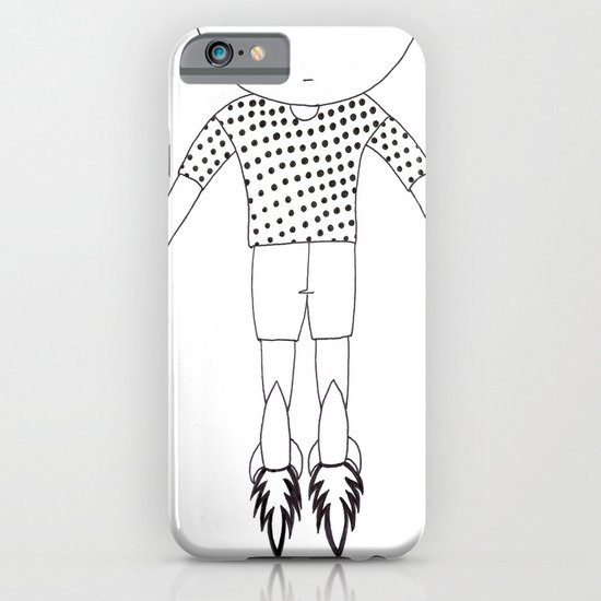 Child foot rockets iPhone & iPod Case