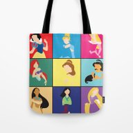 Original Princesses W/ R… Tote Bag