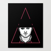 A Clockwork Pinkman Canvas Print