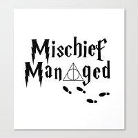 HP shirt Canvas Print