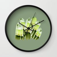 emerald city. Wall Clock