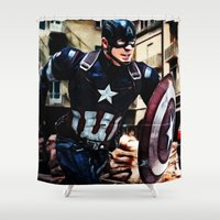 The Captain Shower Curtain