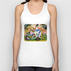 lvl up Unisex Tank Top