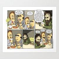 Existential Flatulence  Art Print