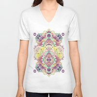 Opal with phantoms  Unisex V-Neck