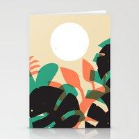 Jungle Sun #1 Stationery Cards