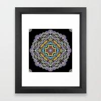 Soothing Mandala Framed Art Print