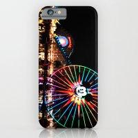 iPhone & iPod Case featuring Paradise Pier at Night by Natasha Alexandra Englehardt