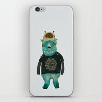 Cookie And Big Blue iPhone & iPod Skin