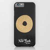 This is New York for me. Bagel iPhone 6 Slim Case