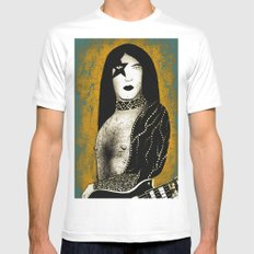 Poster The Great Paul Stanley SMALL White Mens Fitted Tee