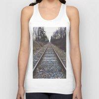 Train Tracks Unisex Tank Top