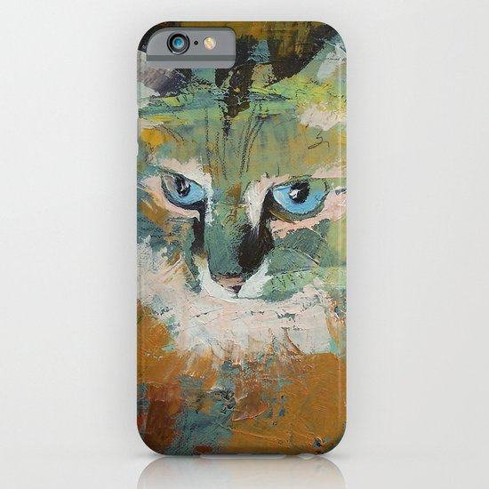 Himalayan Cat iPhone & iPod Case