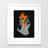 Fall Effect Framed Art Print