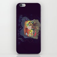 Les Hipsters Mystérieux… iPhone & iPod Skin