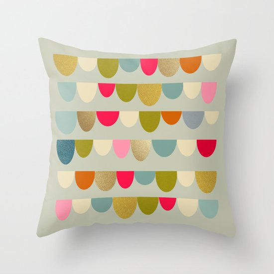 Delightful Rue Throw Pillow
