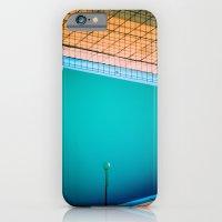 Lamp in swimming-pool iPhone 6 Slim Case