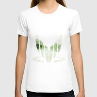 Spectral Womens Fitted Tee White SMALL