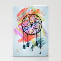 Catching Paint - Dream Catcher Stationery Cards