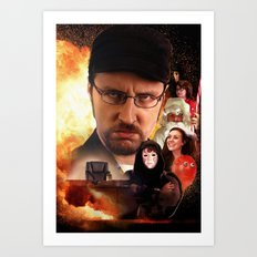 The Nostalgia Critic Art Print