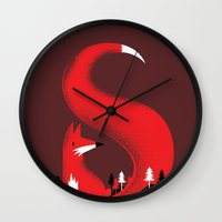S Like Fox Wall Clock