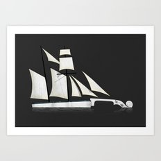 Musical Voyage Art Print